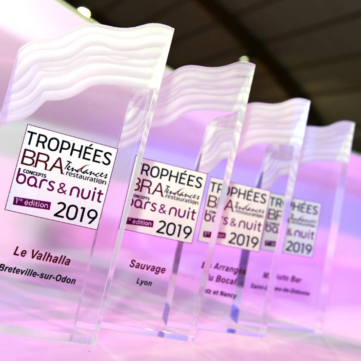 Trophées B.R.A Tendances Restauration, concept Bars & Nuits 2019