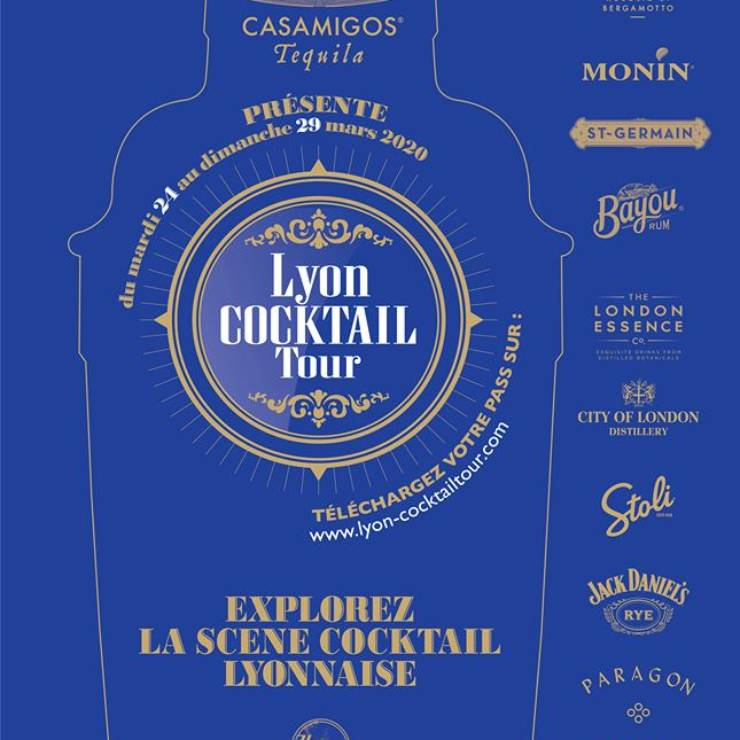 Lyon Cocktail Tour chez Sauvage (24 – 29 mars)